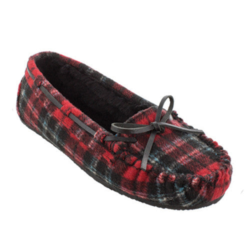 Cally Moc Red Plaid