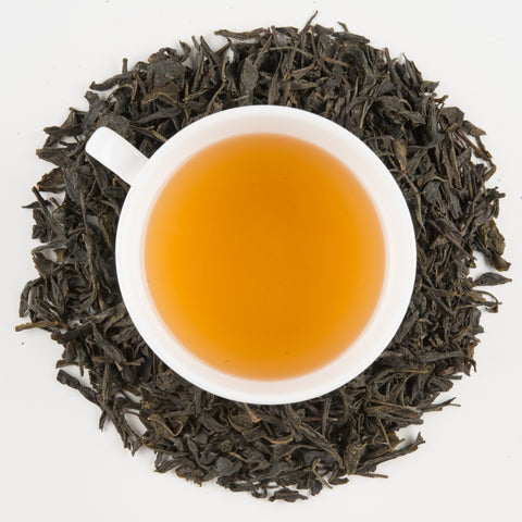 shan valley mountain roasted green tea