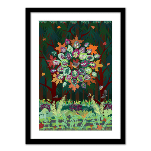 Art Print - Autumn Maple - Framed Giclee Print