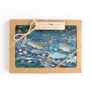 "Greeting Cards - Salmon Creek Magic - six 6x4"" folded cards with envelopes"