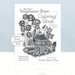 DOWNLOAD PDF - The Imagination Room ~ Coloring Book, Print at home