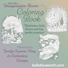 Load image into Gallery viewer, The Imagination Room ~ Coloring Book