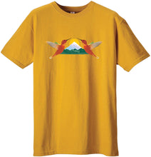 Load image into Gallery viewer, Tee Shirt - Hummingbird Sunrise - 100% Organic Cotton Tee