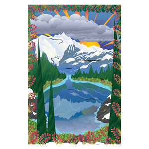 Art Print - Heather Meadows