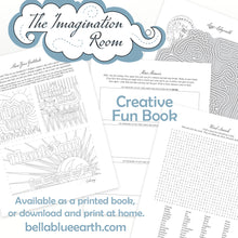 Load image into Gallery viewer, The Imagination Room ~ Activity Fun Book