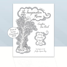Load image into Gallery viewer, DOWNLOAD PDF - The Imagination Room ~ Activity Fun Book, Print at home