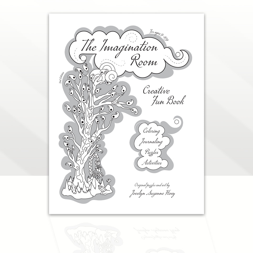 The Imagination Room ~ Activity Fun Book