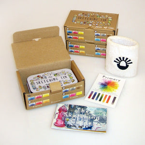 The Sketching Tin ~ by Joan of Art