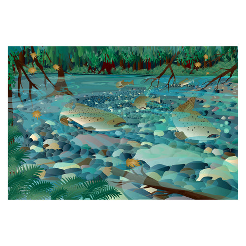 Art Print - Salmon Magic