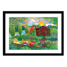 Load image into Gallery viewer, Art Print - Tulip Farm - Framed Giclee Print