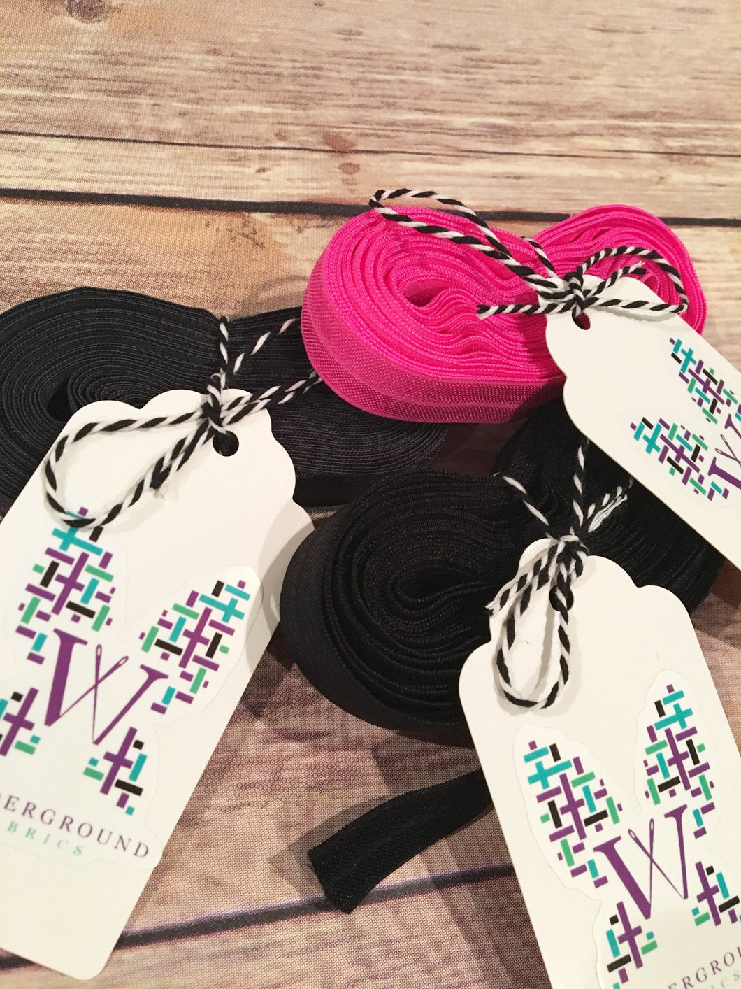 Fold Over Elastic 5yd bundle