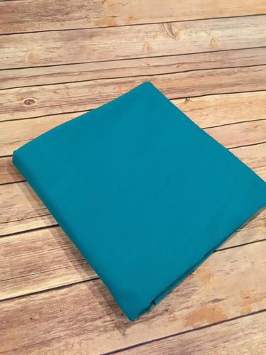 Turquoise French Terry Solid