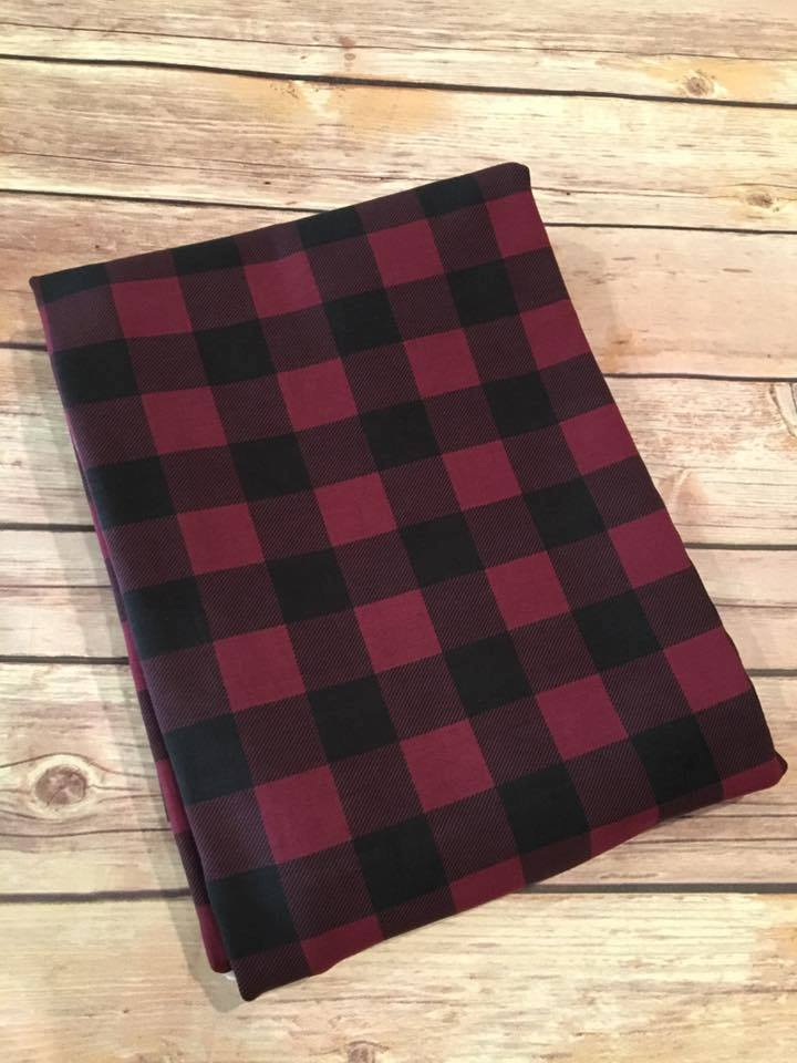 Berry Mini Buffalo Plaid