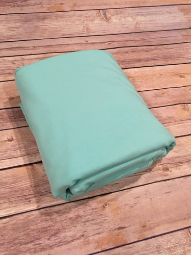 Sea Green French Terry Solid