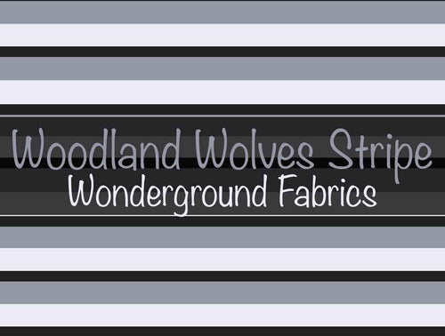 Woodland Wolves Stripe