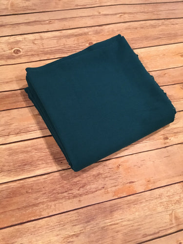 Teal French Terry Solid