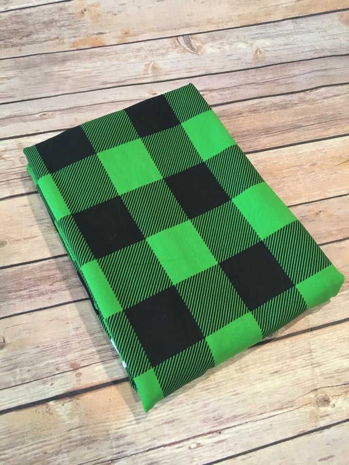 Holiday Green Buffalo Plaid (1.5