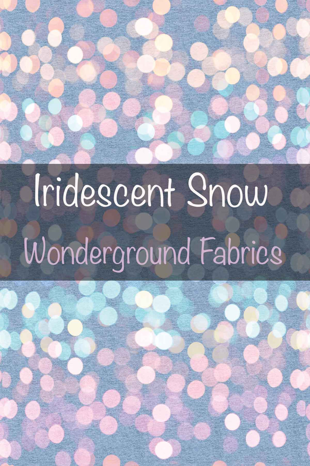 Iridescent Snow - Popologie Collection- Preorder Closes 9/23