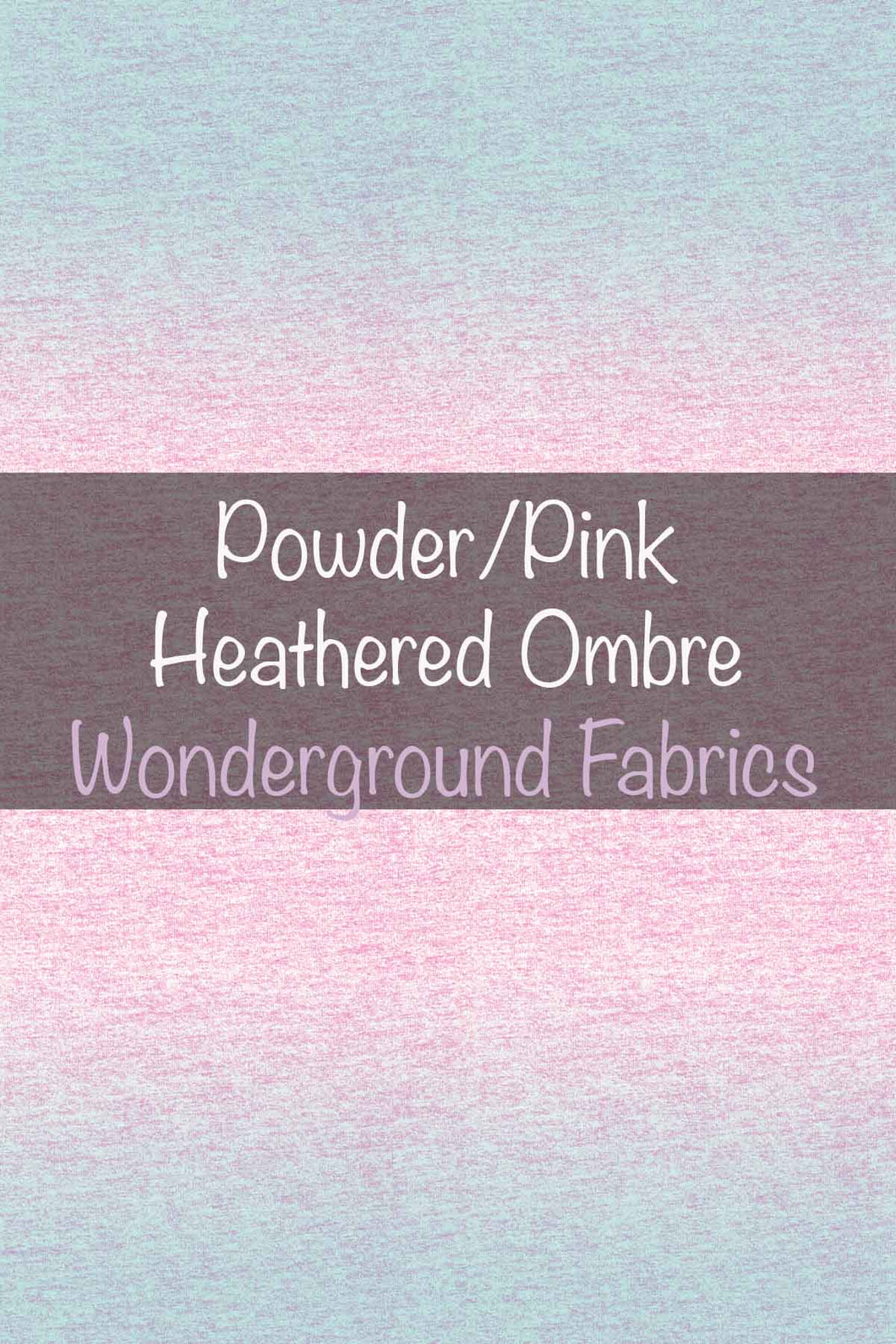 Powder/Pink Heathered Ombre