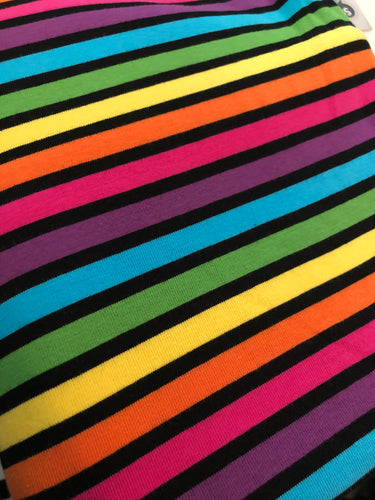 Mod Bright Rainbow Stripe