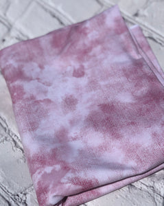 Mauve Faux Acid awash Denim