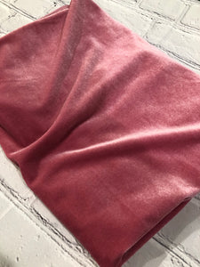 Mauve Stretch Velvet