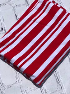 Red Dapper Stripe