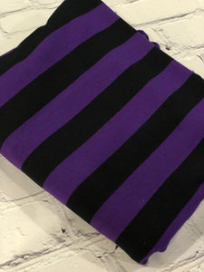 Purple/Black Stripe