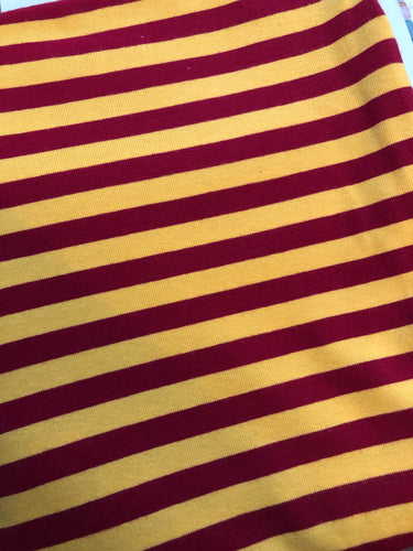 Maroon and Gold Stripe