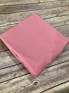 Dusty rose  French Terry Solid