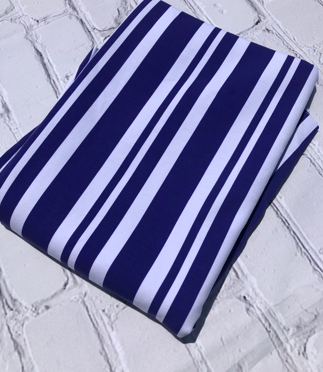 Purple Dapper Stripe