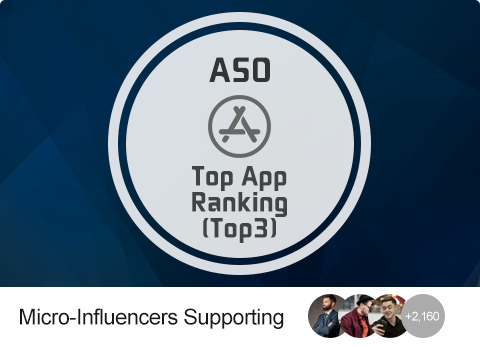ASO - Boost App To TOP3 (Tier-1 Countries)