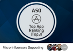 ASO - Boost App To TOP3 (Tier-2 Countries)