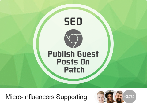SEO - Publish Guest Posts On Patch