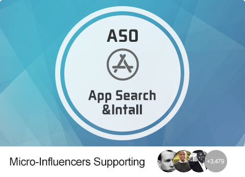 ASO - Buy App Search + Install (US)