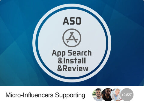 ASO - Write App Reviews (US)