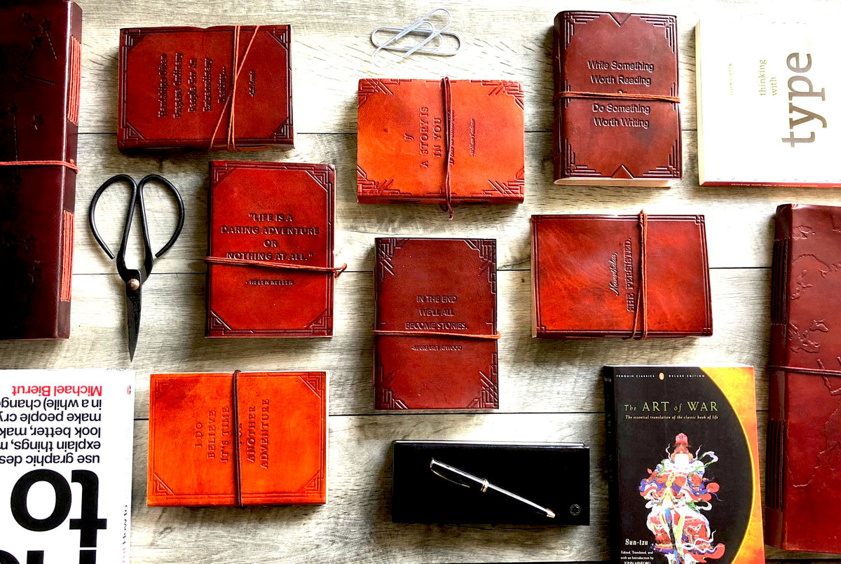 Thoughtful Leather Journals By Soothi Soothi