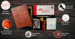 Celebrate Love Gift Box - Leather Journals By Soothi