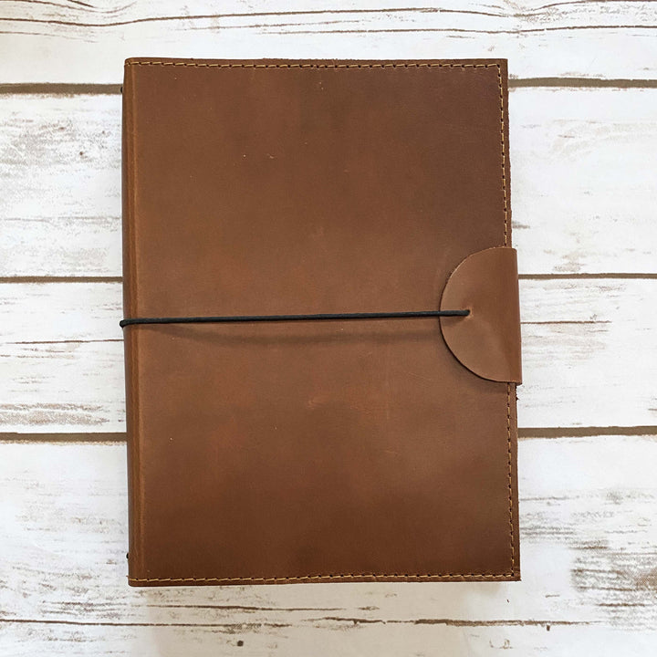 A5 Custom Traveler's Leather Journals