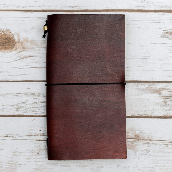 Custom Traveler's Leather Journals - TRAVELER'S JOURNALS - Leather Journals By Soothi