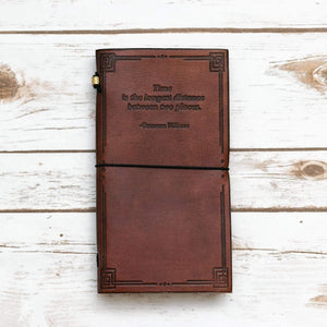 Tennessee Williams Traveler's Notebook - Leather Journals By Soothi