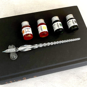 Glass Dip Pen Set With Ink