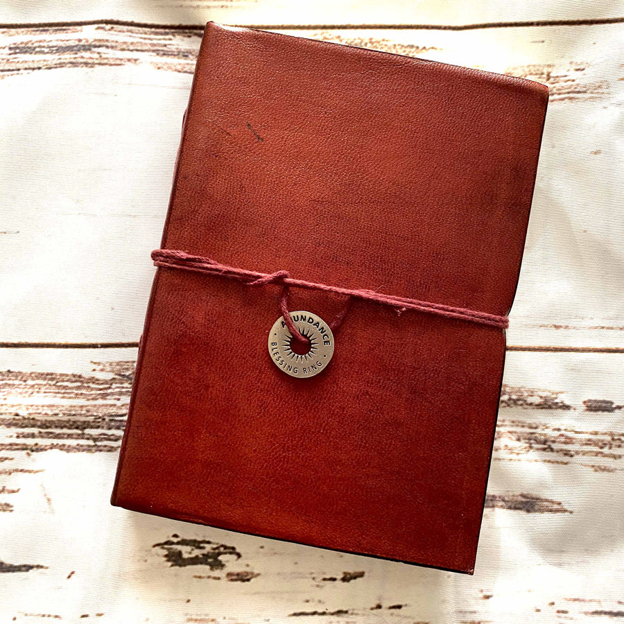 Abundance Charm - Leather Journals By Soothi