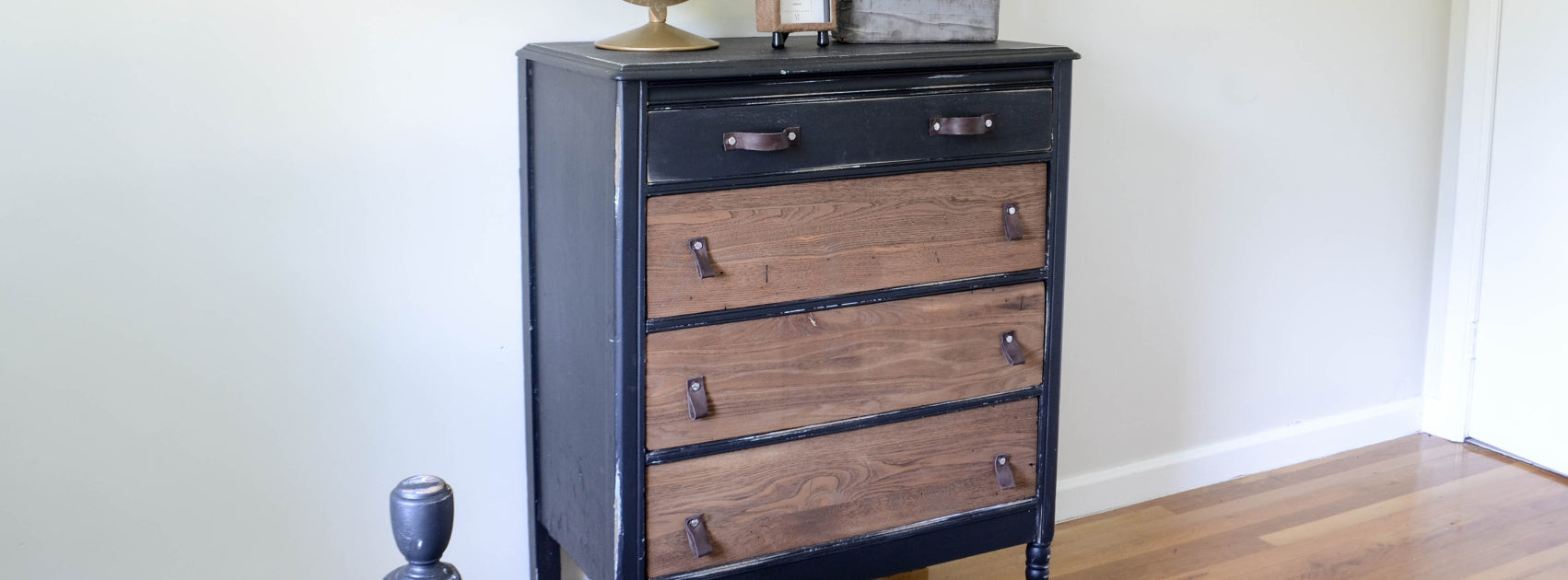 Two Toned Dresser DIY