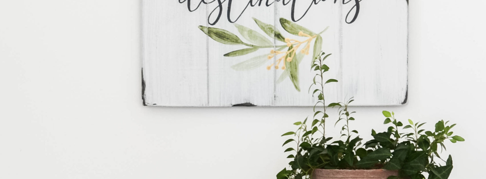 New Watercolor Wood Signs