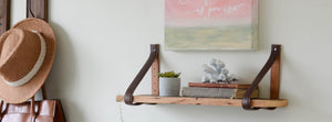 DIY Shelf Hung With A Belt