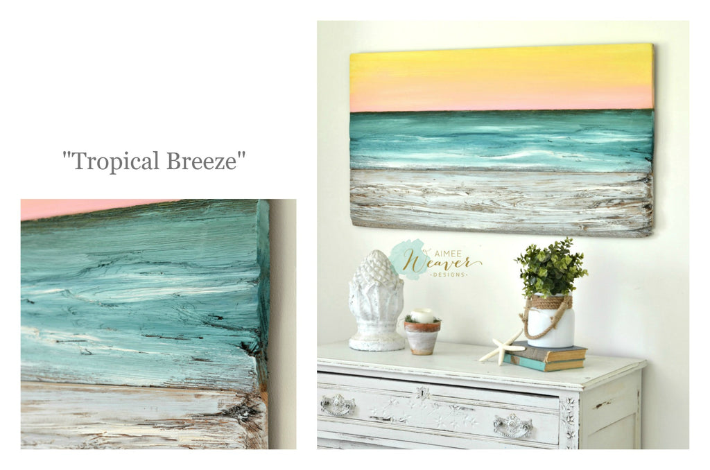 Ocean Collection paintings by Aimee Weaver Designs