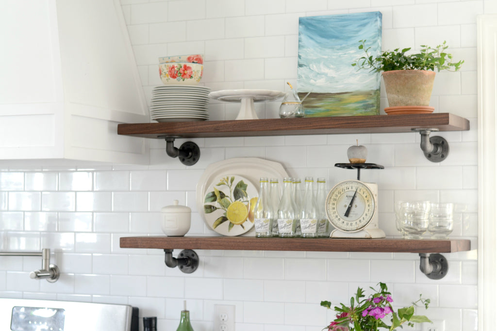 I Am Loving Our New Kitchen And Especially The Shelves That We Added To  Both Sides Of The Range Hood. It Really Is One Of My Favorite Parts About  The ...