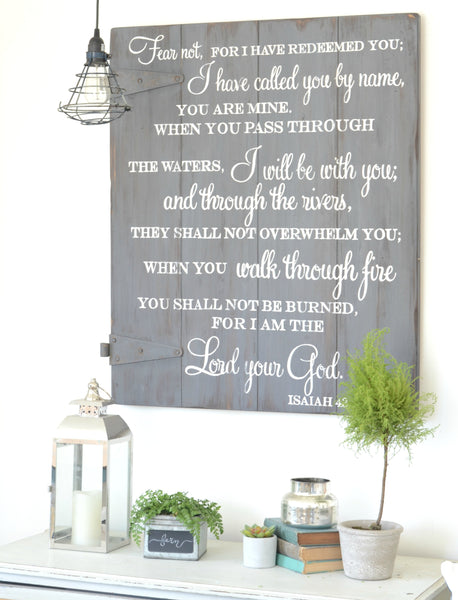 Bible verse scripture sign