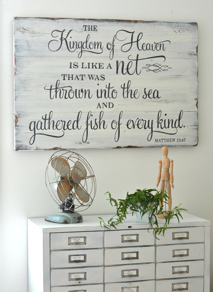 Custom sign by Aimee Weaver Designs
